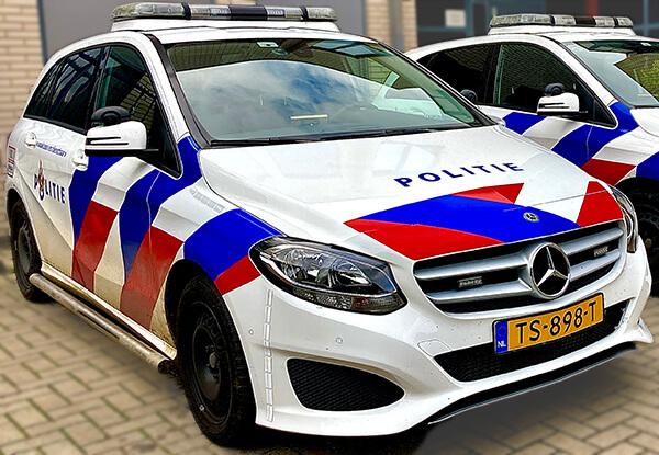 Politie waarschuwen met alarmknop