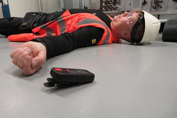 alarmknop voor alleenwerkers