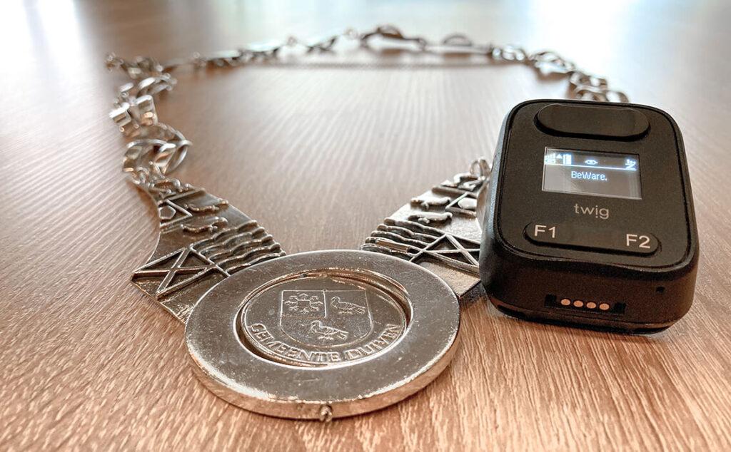 Alarmsysteem voor burgemeesters en ambtsdragers